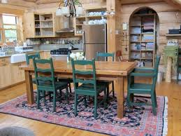 painted wood dining room chairs. barnwood dining table - farm base shown with hand painted wood chair design room chairs i