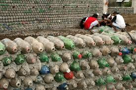 philippines building schools from soda bottles inter press service plastic credit kara bottle greenhouse plans school house