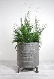 Vintage Extra Large Industrial Metal Bucket / Large Planter / Industrial  Decor