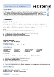 Resume Template For Registered Nurse Interesting 48 Nursing Resume Template Free Word PDF Samples