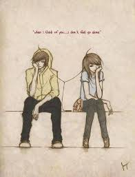 Cute Couple Drawings With Quotes Drawings Illustrations Cute