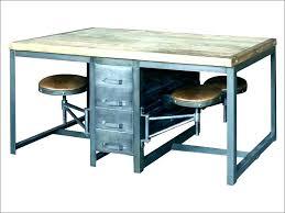 rustic office desk. Rustic Office Furniture Industrial Home Desk Interesting U