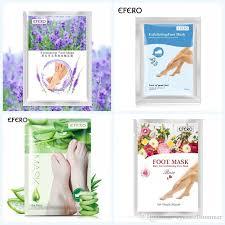 2pcs 1pair efero moisturizing foot peeling mask for legs spa socks pedicure exfoliating baby feet cream skin care