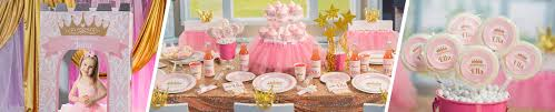 Pink \u0026 Gold Princess Party Supplies Birthday - Shindigz