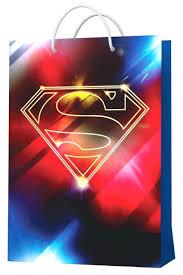 Купить <b>Superman</b>. <b>Пакет подарочный</b> большой-2, 220*310*100 ...