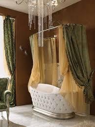 crystal chandelier master bath ideas