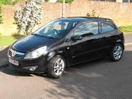 2007 vauvhall corsa d 1 2 sxi 3 door hatchback in excellent condition black