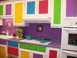 colorful kitchen ideas. Really Colorful Kitchen At Awesome Design Ideas F