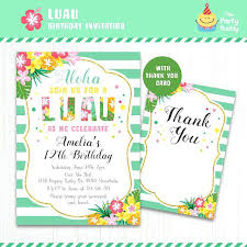 Tropical Party Invitations Tropical Party Invitations Pool Party Invitations Luau Tropical