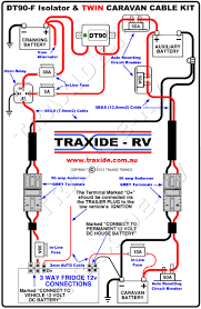 caravan battery charging from prado with 150 wiring diagram marine battery switch 3 batteries at 3 Battery Wiring Diagram