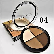beauty ministar highlighter contour matte