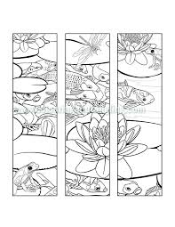 Small Picture Koi Pond Pack June Colouring and Tangling