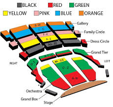 Mann Seating Chart Do You Hear The People Sing Pittsburgh Official Ticket