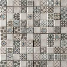 vintage kitchen tiles vintage cream mosaic antique style kitchen tiles