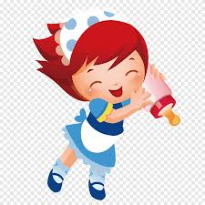 Mickey Mouse Cartoon Child Drawing Illustration, Girl holding a bottle,  child, fashion Girl png