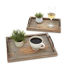 decorative ottoman serving tray