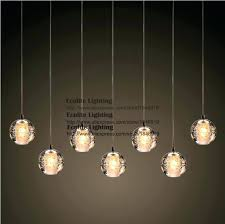 bocci pendant light chandelier modern led pendant light with crystal globes and style light chandelier bocci pendant
