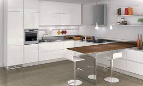 kitchensmall white modern kitchen. Small Kitchen Decoration Using Fabulous With Various Bar Design : Fancy Picture Of White Modern Kitchensmall