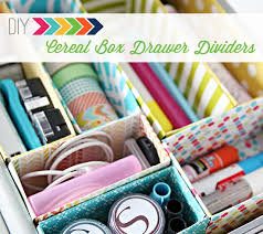 diy office supplies. cerealboxdrawerdividersheader diy office supplies