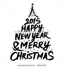merry christmas and happy new year 2015 black and white. Merry Christmas And Happy New Year 2015 Clip Art Inside Black White