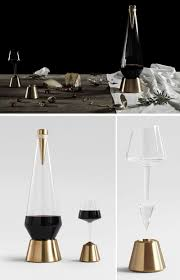 unique modern wine decanters  contemporist
