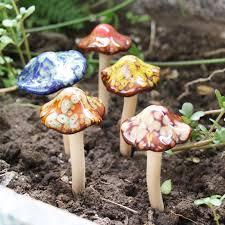 mushroom yard decor popular ceramic garden mushrooms ceramic garden mushrooms