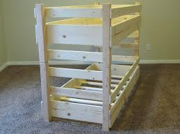 full size of toddler bunk bed plans blueprints l loft with storage white twin over queen