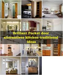 Eleven Contemporary Kitchen Pocket Door Alternatives Spaces Contemporary With Tile Flooring