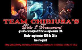 team chibiusa s dota 2 tournament