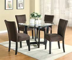 round dining table and chair set modern round dining room set with brown chairs dining table and chairs set uk