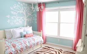 Pink And Blue Bedroom Decoration