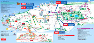 new york top tourist attractions map  manhattan historical