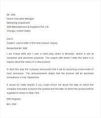 Sample Job Inquiry Email Job Inquiry Cover Letter Letter Sample For Enquiry New Job Inquiry