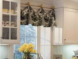 Kitchen Window Treatments Kitchen Window Valance Ideas Pinterest Window Curtains Decor
