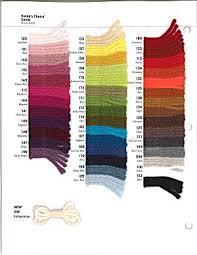 Vanna White Yarn Color Chart Vanna Yarns Sample Card Image1 Color Card Yarn Colors