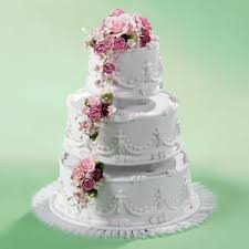 Grocery Store Wedding Cake