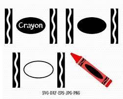 crayola crayons crayon template