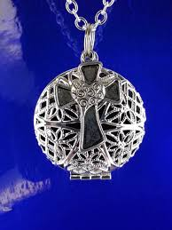 cross diffuser necklace essential oil diffuser necklace silver aromatherapy locket essential