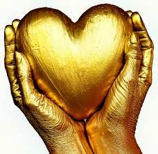 Gold Heart Pictures