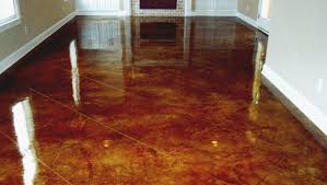 diy acid stain concrete floors