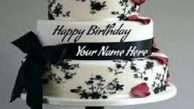 Birthday Cake Images With Name Editor Free Download For Mobile How To