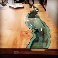 cool furniture ideas.  Cool Would LOVE One Of These In My Future House So Cool Furniture With Rivers  Glass Running Through Them By Greg Klassen 8 For Cool Ideas Pinterest