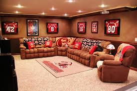 Man Cave Furniture Ideas Home Design Relaxing Basement Man Cave