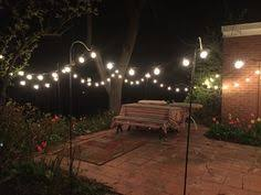 How to Hang Patio String Lights Patio string lights Patios and