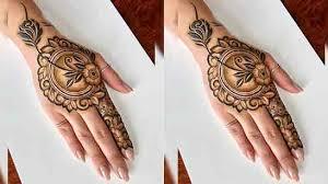 100+ Flower Mehndi Design   Front & Back Hands - TailoringinHindi