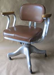 office chair vintage. This Office Chair Dates To The 50s And Was Made By Shaw-Walker. Vinyl Upholstery Maple Arm Rests Had Seen Better Days. Vintage I