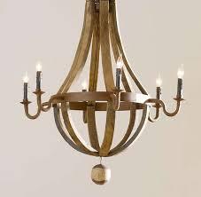 wine barrel light fixtures breathtaking chandeliers mark sage repurposes french oak barrels home interior 1