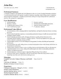 Sample Resume For Pharmacy Technician Entry Level Awesome List Of