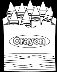 crayon box coloring page lovely crayons pages school 7 luxury