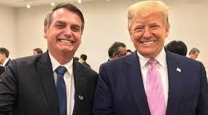 """HOY / Bolsonaro dice que desea asistir a la """"nueva investidura"""" de Donald  Trump"""